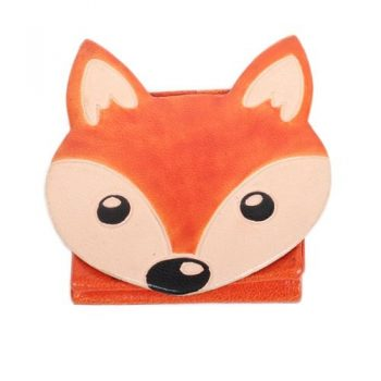 Leather fox design coin purse | TradeAid