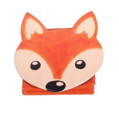 Leather fox design coin purse | TradeAid