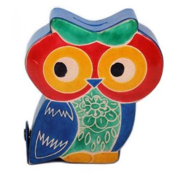 Owl money box | TradeAid