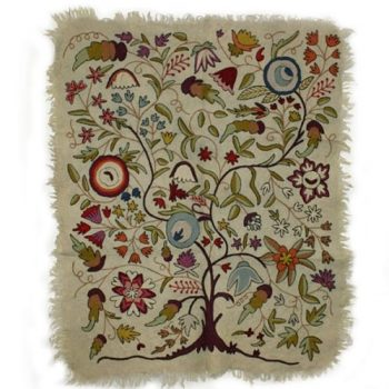 Felted Tree Of Life Design Numdha Rug Trade Aid