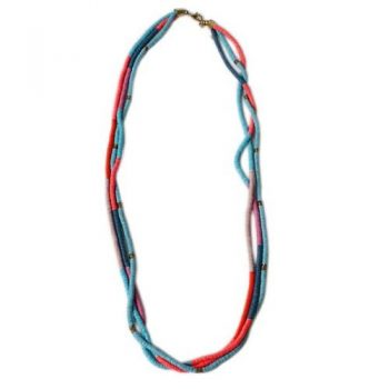 3 strand colourful necklace | TradeAid