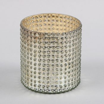 Silver tea light holder | TradeAid
