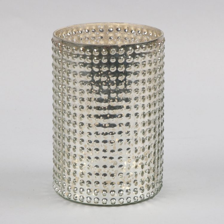 Silver cylindrical vessel | TradeAid