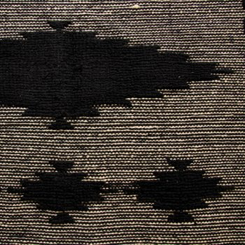Large black and white cotton rug | Gallery 2 | TradeAid