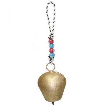 Golden colour iron bell | TradeAid