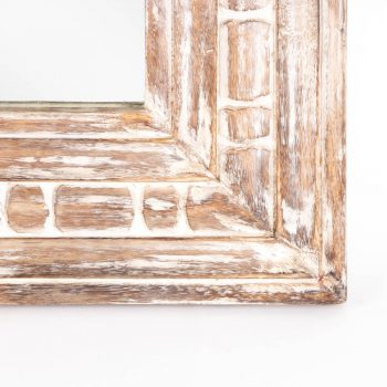 White mango wood mirror | Gallery 1 | TradeAid
