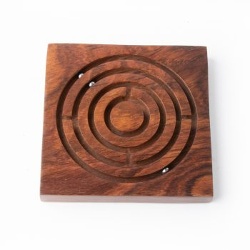 Square wooden maze game | TradeAid