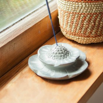 Stone flower incense holder | TradeAid