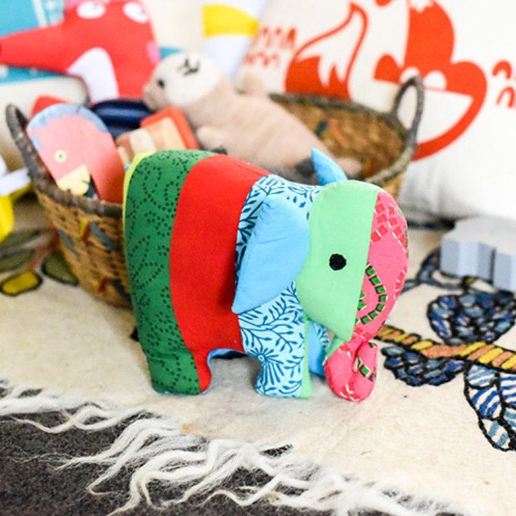 Patchwork elephant   TradeAid