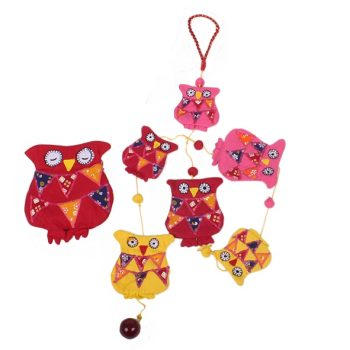 String of owls with owl storage bag | TradeAid