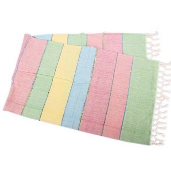 Hand woven striped table runner | TradeAid