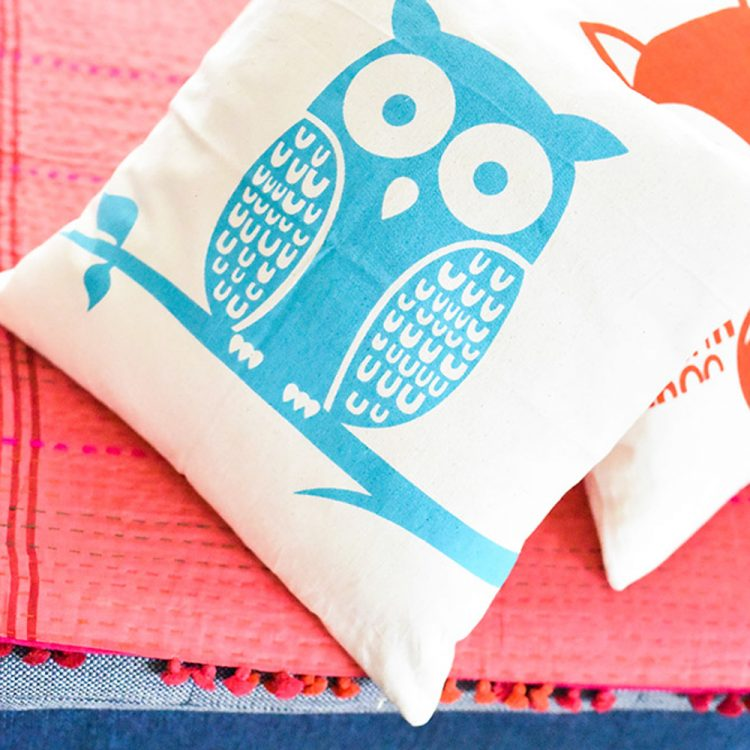 Owl cushion cover | TradeAid