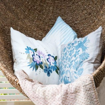 Bird and flower cushion cover | Gallery 1 | TradeAid