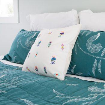 Floral designs cushion cover   TradeAid