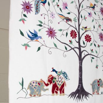White tree of life wall hanging | Gallery 2 | TradeAid