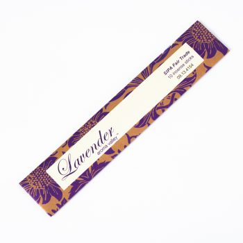 Pack of 10 lavender incense | TradeAid