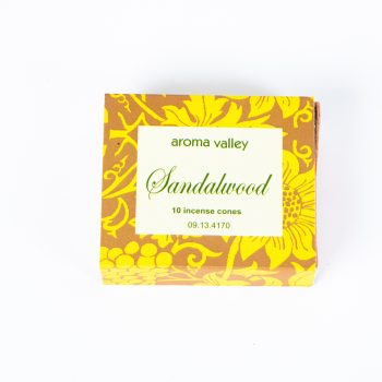 Sandalwood incense cones pack of 10 | TradeAid