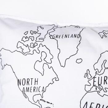 World map pillowcase   Gallery 1   TradeAid
