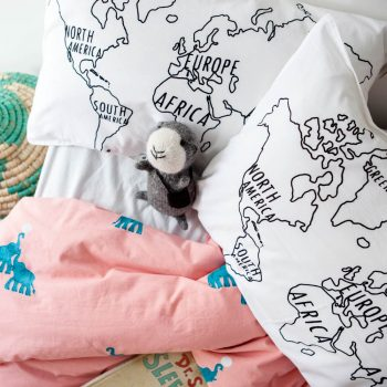 World map pillowcase | Gallery 2 | TradeAid