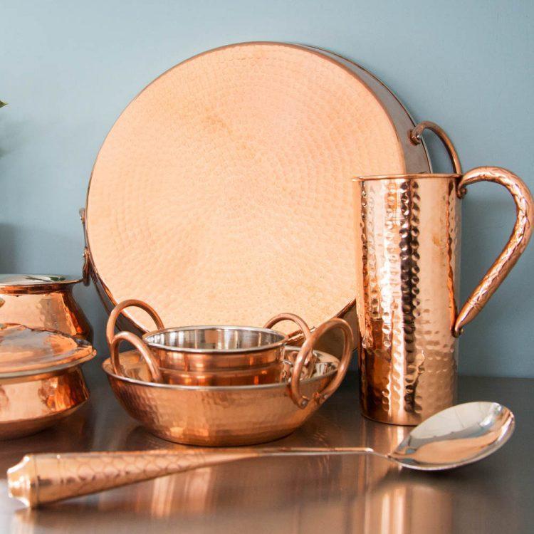Copper handle serving spoon | Gallery 1 | TradeAid