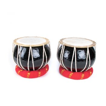 Set of 2 black nagori drums | TradeAid