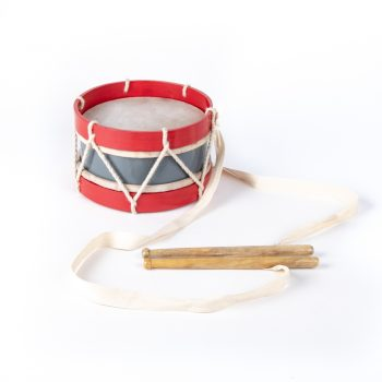 Red and grey marching drum | TradeAid