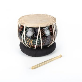 Nagori drum with squiggle design | TradeAid