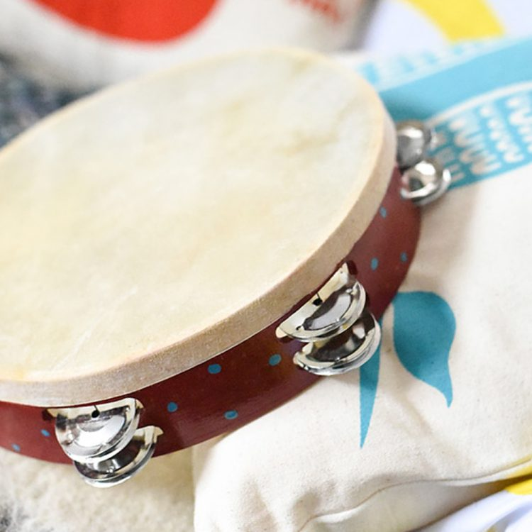 Red tambourine | TradeAid