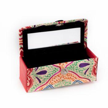 Shanti leather lipstick case | TradeAid