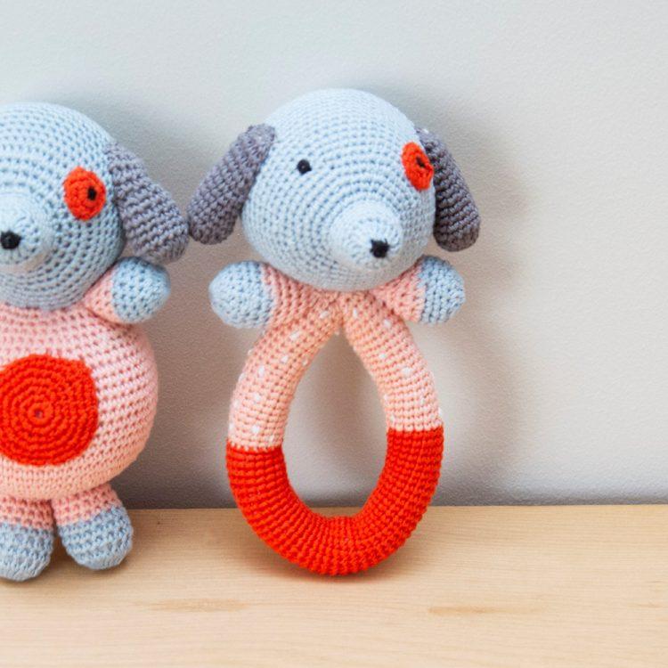 Crochet dog rattle | TradeAid