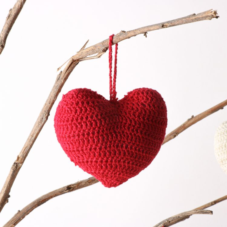 Hanging crochet heart (assorted)   Gallery 2   TradeAid