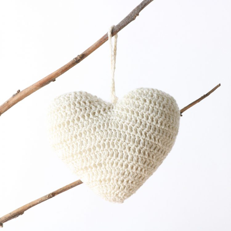 Hanging crochet heart (assorted)   Gallery 1   TradeAid