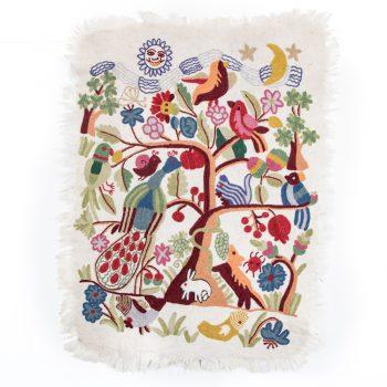 Tree of life numdha rug | TradeAid