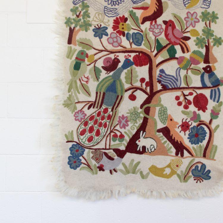 Tree of life numdha rug | Gallery 1 | TradeAid