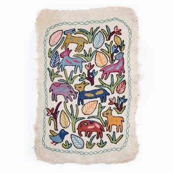 Animal numdha rug | TradeAid