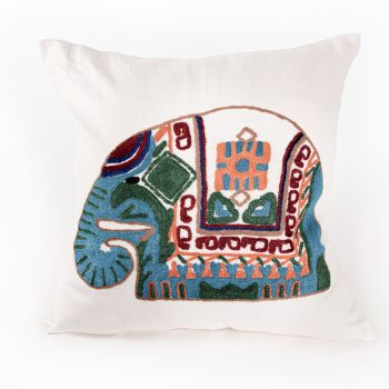 Elephant cushion cover | TradeAid