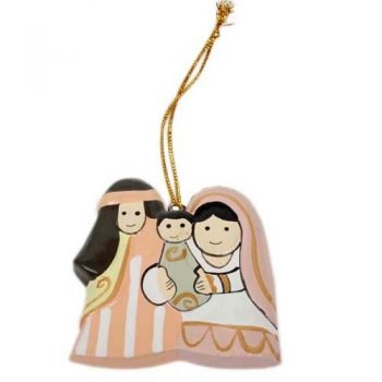Wooden nativity hanging | TradeAid