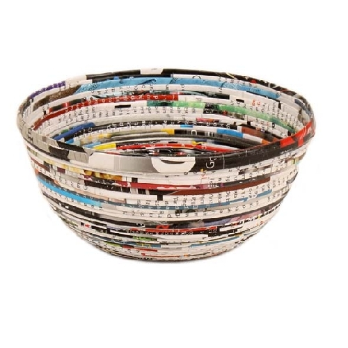 Recycled paper bowl | Gallery 1 | TradeAid