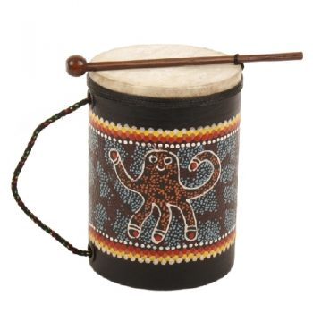 Drum with octopus design | TradeAid