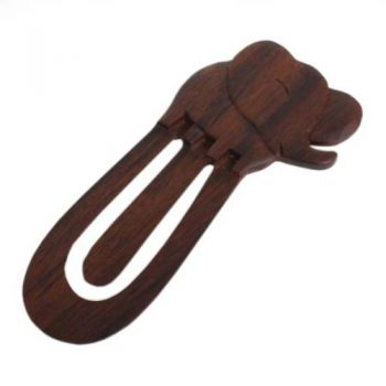 Wooden elephant paperclip | TradeAid