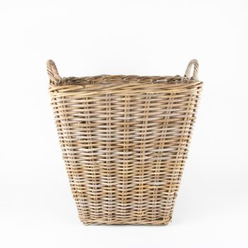 Large grey rattan laundry basket | TradeAid