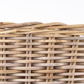 Large grey rattan laundry basket | Gallery 2 | TradeAid
