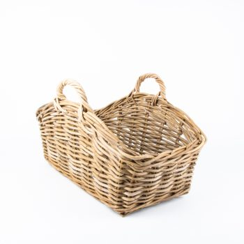 Curved rectangular basket | TradeAid