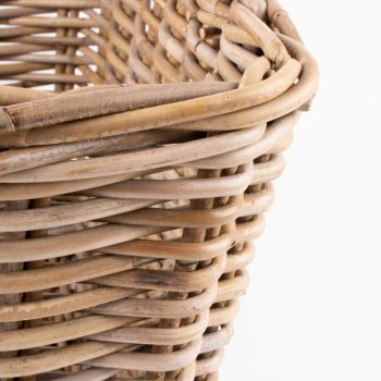 Grey rattan laundry basket with handles | Gallery 2 | TradeAid