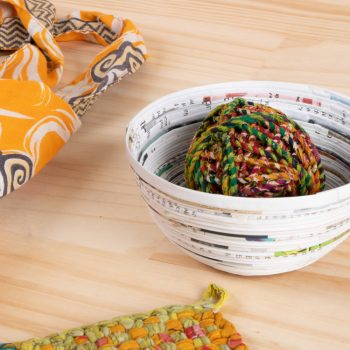 Recycled paper bowl | TradeAid