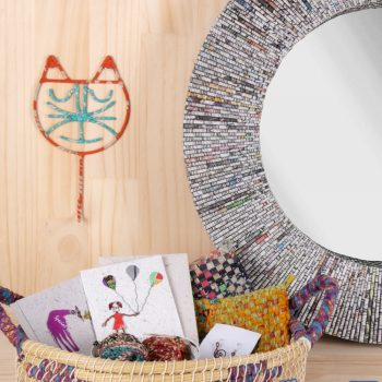 Recycled paper mirror | Gallery 2 | TradeAid