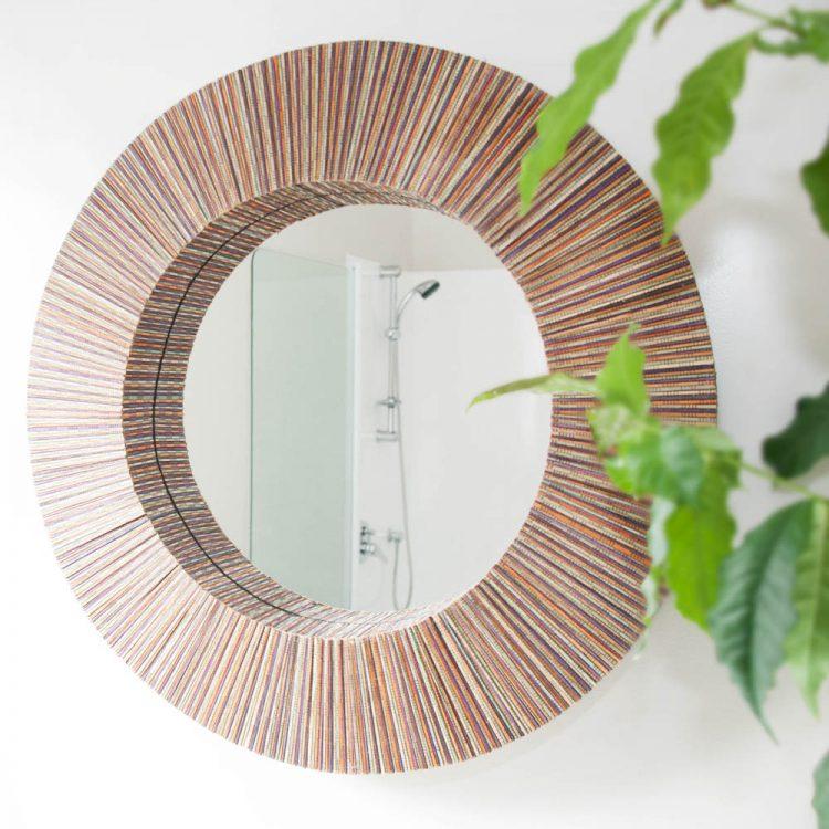 Round cocorib mirror | TradeAid