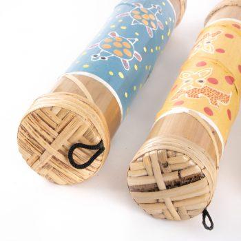 Short bamboo rainstick   Gallery 1   TradeAid