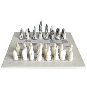 Small stone chess set | TradeAid