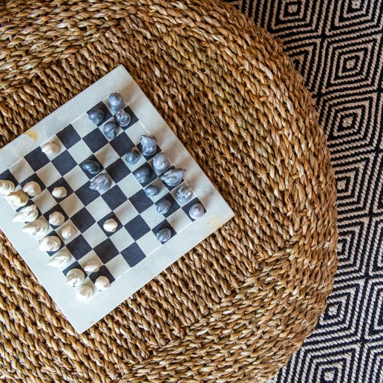 Small stone chess set | TradeAid